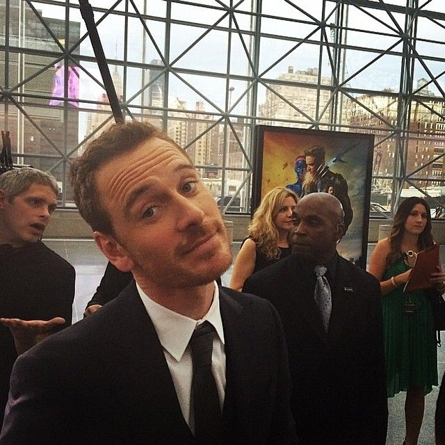 """This man is gorgeous!!! Michael Fassbender !"""