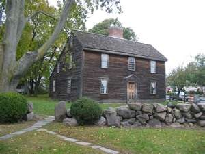 John Adams Birthplace Home, Quincy, MA