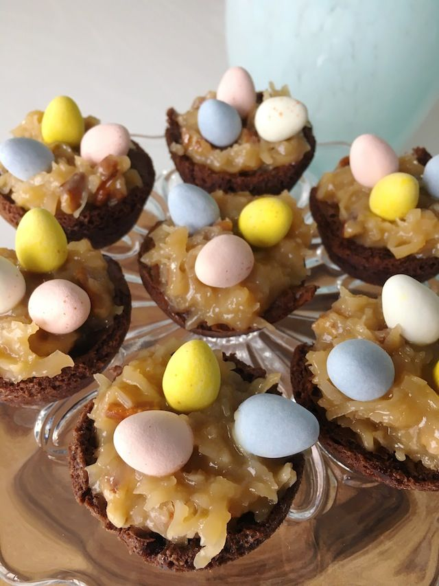 Wendy Correen: Easter Around #thesmithspinkhouse, IVF Update, and Easter Egg Nest Brownie Bite Recipe