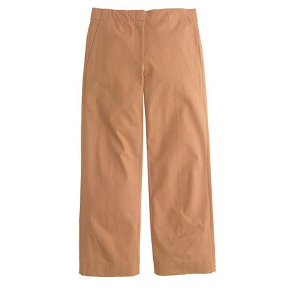 Cropped patio trouser : novelty | J.Crew
