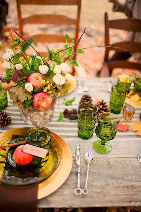 17 mejores ideas sobre boda de acci n de gracias en for Decoracion de mesa para accion de gracias