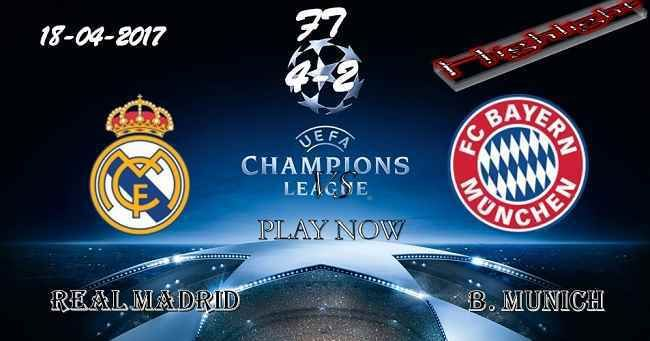 Real Madrid 4 - 2 B. Munich HIGHLIGHTS 18.04.2017
