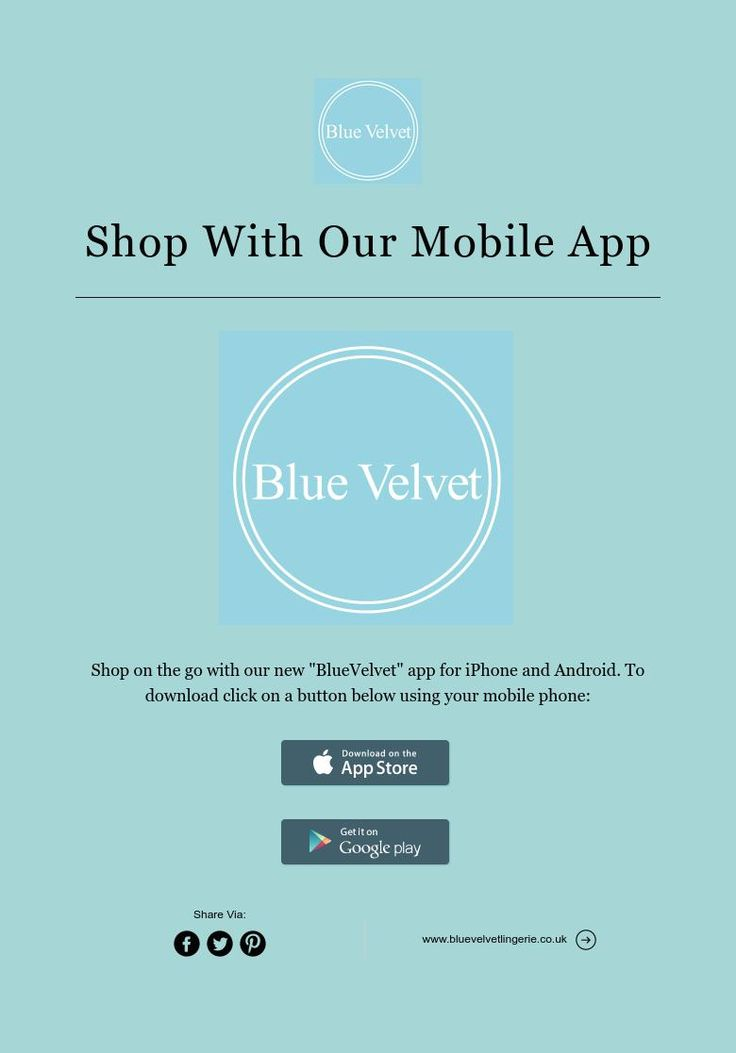Shop With Our Mobile App