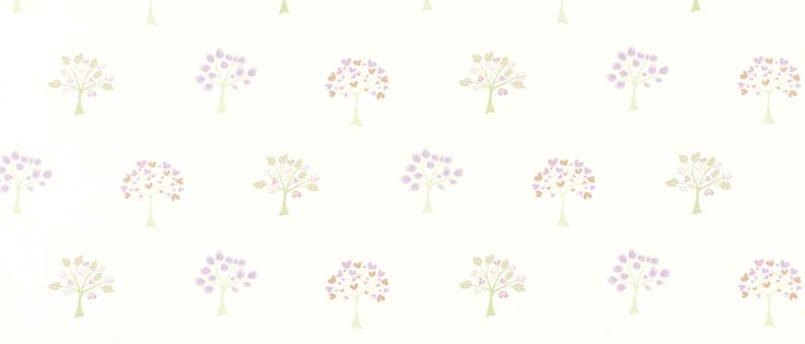 Esme White/Pink Childrens Wallpaper at Laura Ashley - (детска? хол?)