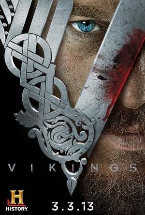 The History Channel's nine-part mini-series chronicling the adventures of Viking warrior (and supposed descendent of Odin), Ragnar Lothbrok. Curious as to what lies to the West, Ragnar devises a plan to rebel against the long tradition of raiding East.