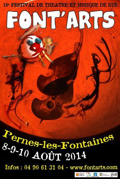 Font'arts, le festival de théâtre et de musique de rue, revient animer le centre historique de Pernes les Fontaines, les 8, 9 et 10 août prochains ! Plus d'infos sur le site http://www.fontarts.com