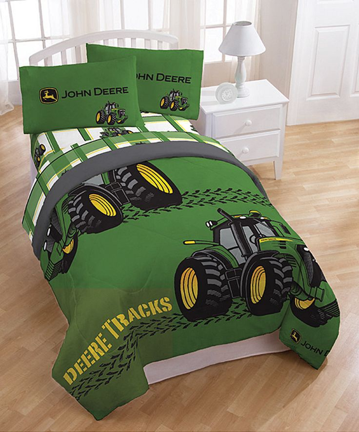 Look what I found on #zulily! John Deere Tracks Comforter by John Deere #zulilyfinds