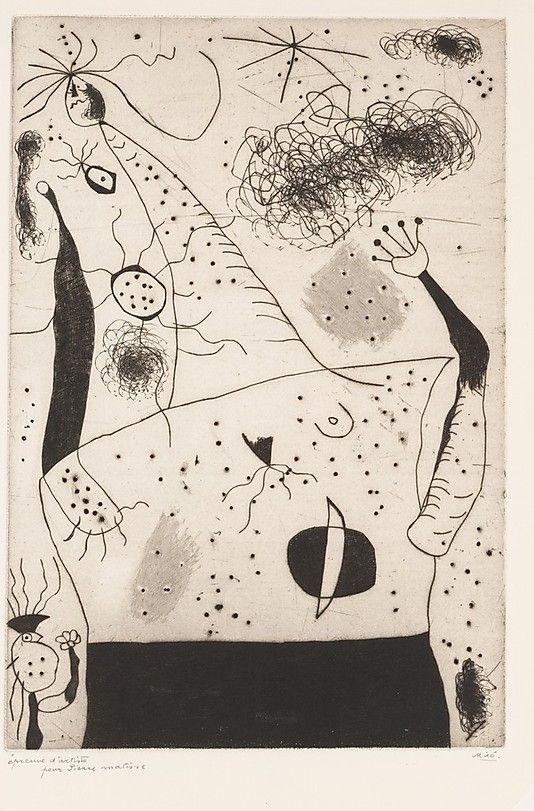 Joan Miró  (Spanish, Barcelona 1893–1983 Palma de Mallorca)  | The Giantess | 1938