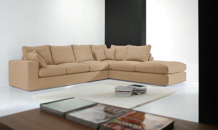 Divano angolare ginevra colore rosino produzione for Divani sofa varese
