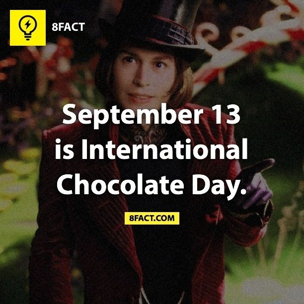 Yay! We should celebrate this with some sort of chocolate parade! Willy Wonka could lead the way with maybe the M&M men close behind?