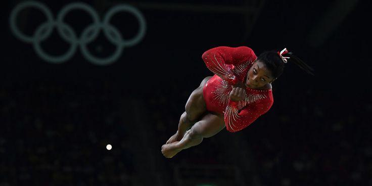 JO de Rio 2016-Gym artistique : 3e médaille d'or pour l'Américaine Simone Biles