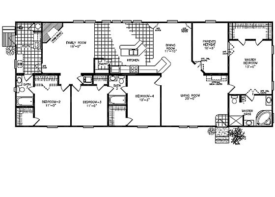 Downeast home builders floor plans.