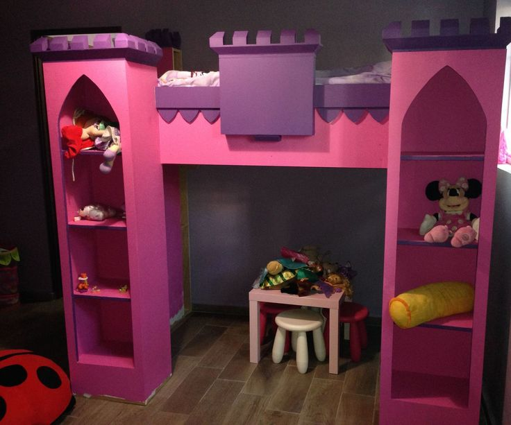 1000 images about scarlette evangelina on pinterest for How to build a castle bed