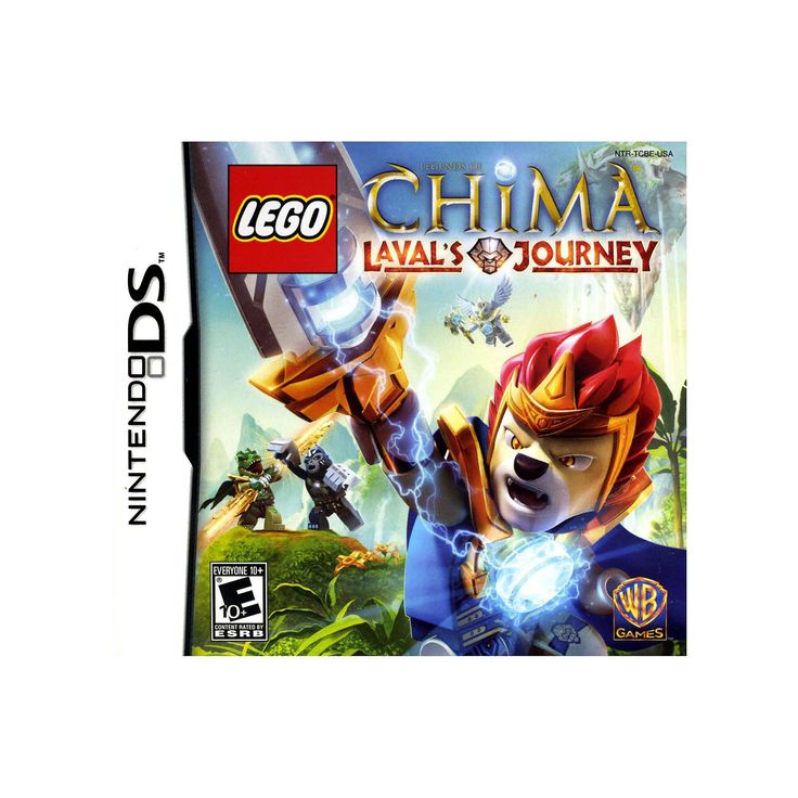 LEGO Legends of Chima: Laval's Journey for Nintendo DS, Multicolor