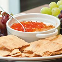 Epicure's Baked Brie with Red Pepper Jelly by Epicure Selections