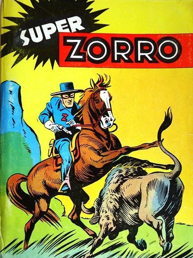 Zorro comic book.