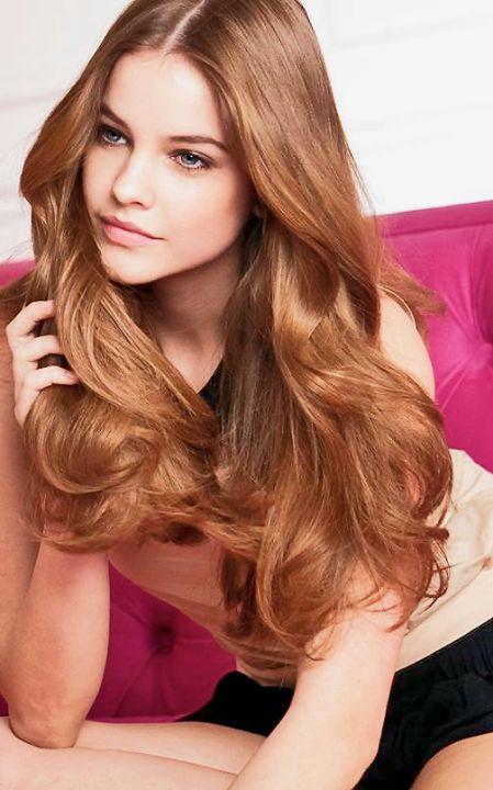 Барбара палвин цвет волос