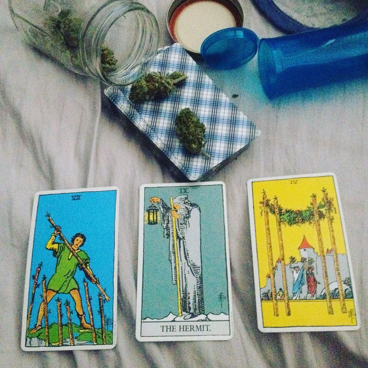 In this tarot and blaze it moment instead of getting