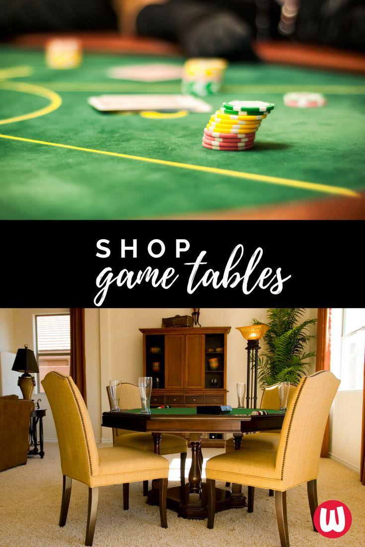 High Quality Watsonu0027s In Cincinnati Will Help You Design And Create The Fun Game Room In  Your Home Where Everyone Hangs Out   Poker Tables, Game Tables U0026 All Types  Of ...