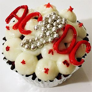 Cupcakes Red Devil alla AC/DC - Ricette Rock / AC/DC Red Devil Cupcakes