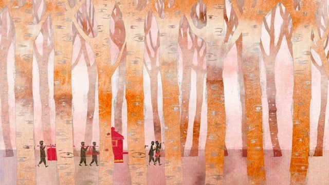 夕化粧 / Sunset Flower Blooming  東京藝術大学大学院映像研究科 アニメーション専攻 修了作品2012  監督:胡 嫄嫄 音楽:山本 高久 サウンドデザイン:鈴木 勝貴 プロデューサー:山村 浩二  シノプシス: 1960年代、中国。おばあさんは庭で涼んでいる。夕日が空を橙色に染め、夕化粧の花が咲き始めた。おばあちゃんは夕化粧の花に誘われ、こどものころの思い出からかつて自分が一番麗しい時間を夢に見るのです。  受賞: 2013 ソウル国際カートゥーン&アニメーションフェスティバル学生作品 優秀賞 2013 東京国際アニメアワード 学生作品部門優秀賞 2013 CGアニメコンテスト 佳作 2013 第16回メディア芸術祭 アニメーション部門審査委員会推薦作品 2014 SKIPシティ国際Dシネマ映画祭 アニメーション部門 グランプリ  © 2012 Yuanyuan HU & Tokyo University of the Arts