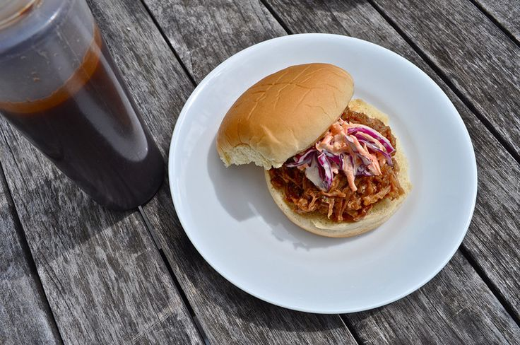 Pulled Pork BBQ Sandwiches & chipotle honey sauce — luri & wilma