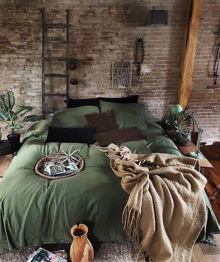 Bohemian bedroom decor and bed design idea …