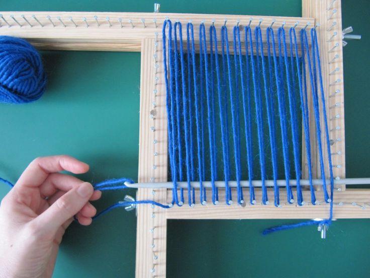 Las técnicas del telar de bastidor