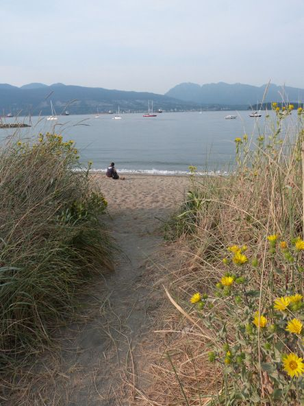 Jericho Beach in the beachy suburb of Kitsilano, Vancouver  Vancouver is number one of my five favourite places that I will definitely revisit, read my post to find out the rest http://bit.ly/1srMsyn via The World on my Necklace