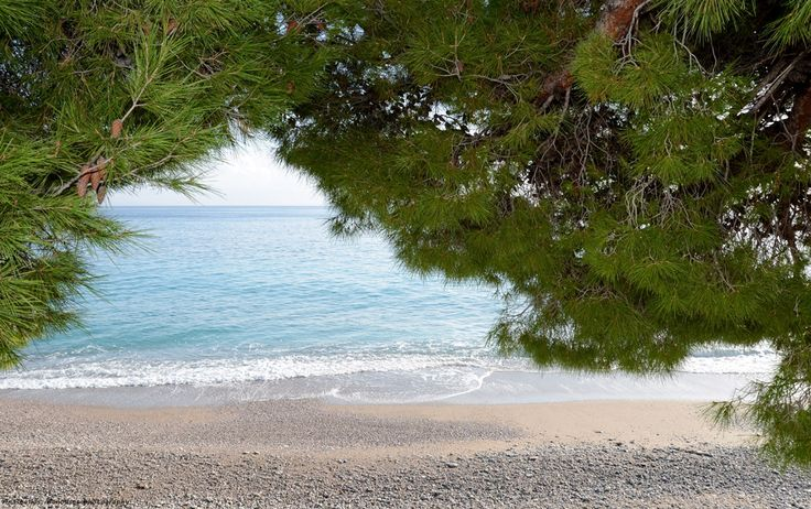 Another view of the beach that is next to our hotel in Tyros Peloponnese Greece. A peaceful town to stay for your summer holidays.