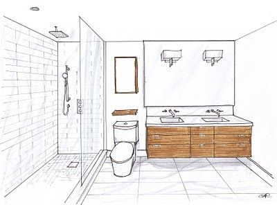 Double Vanity Bathroom Floor Plans 311 best bathroom inspiration images on pinterest | room, bathroom