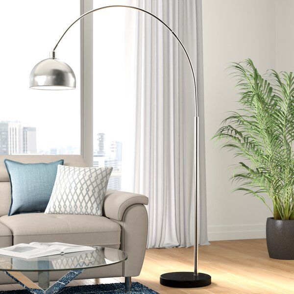 Kim 200cm Arched Floor Lamp In 2020 Cool Floor Lamps Floor Lamp Lounge Lighting