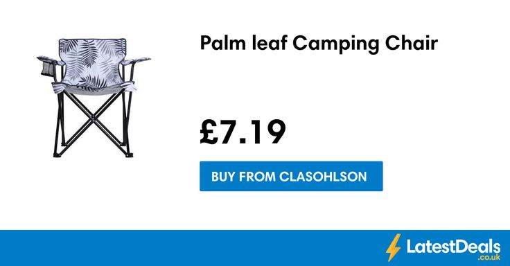 Palm leaf Camping Chair, £7.19 at Clasohlson