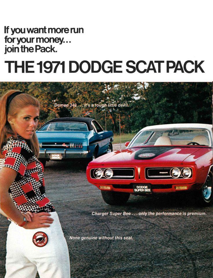 1971 Dodge Charger & Demon Scat Pack