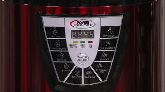 Power Pressure Cooker XL Digital 8 qt. Pressure Cooker w/ Dual Racks - K43483 — QVC.com