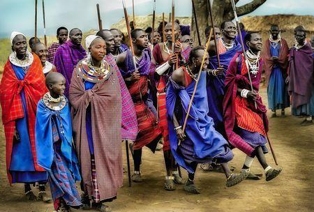 Masai Warriors Dancing Adumu Photo by Nora de Angelli - www.noraphotos.com -- National Geographic Your Shot