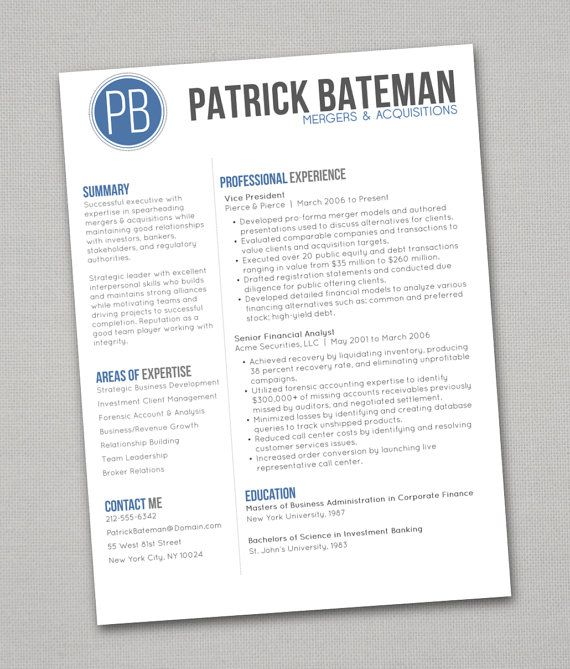 24 best images about resume on Pinterest - professional services resume