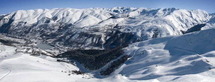 La station de Val Louron est incroyable! #ski Pyrénées