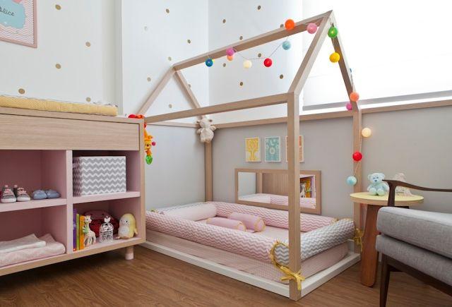 decoração para quarto de menina