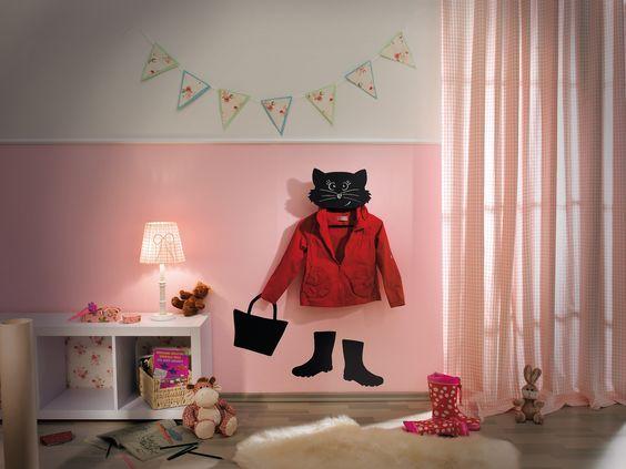 """Lustige Garderobe """"Mikesch"""" Hier geht's zur Anleitung: http://www.toom-baumarkt.de/selbermachen/kreativwerkstatt/details/lustige-garderobe-mikesch-24/ #toom #Baumarkt #toomBaumarkt #toomTeam #Heimwerken #DIY"""