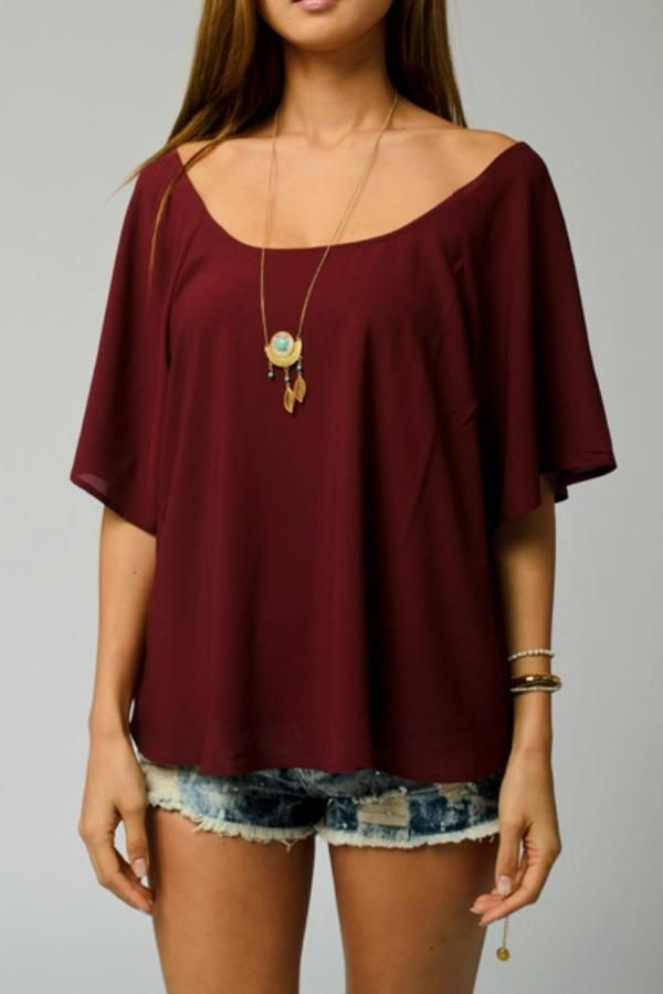 Plus Size Boho Top
