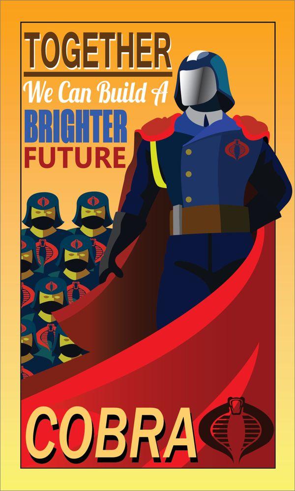 Cobra: Propaganda Poster •Justin Oden