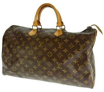 Louis Vuitton Speedy 40 Brown Satchel. Save 45% on the Louis Vuitton Speedy 40 Brown Satchel! This satchel is a top 10 member favorite on Tradesy. See how much you can save