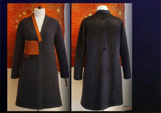Felted coat by ARTI (Rit Maes) 2014