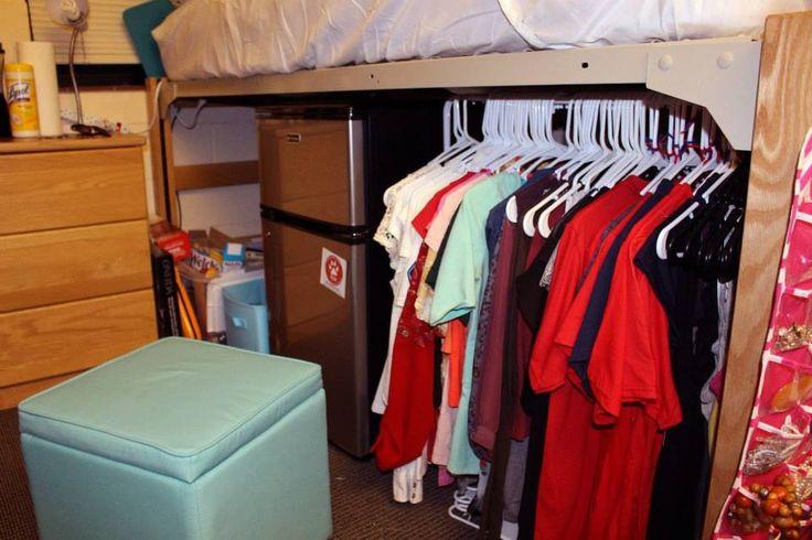 Dorm Organizing College Dorm Ideas Pinterest Cute