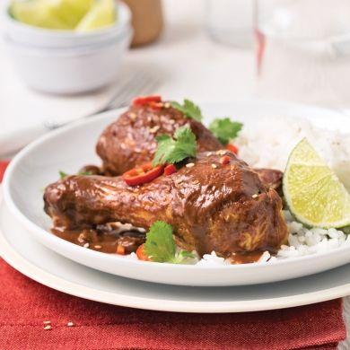 Pilons de poulet mole poblano - Recettes - Cuisine et nutrition - Pratico Pratique