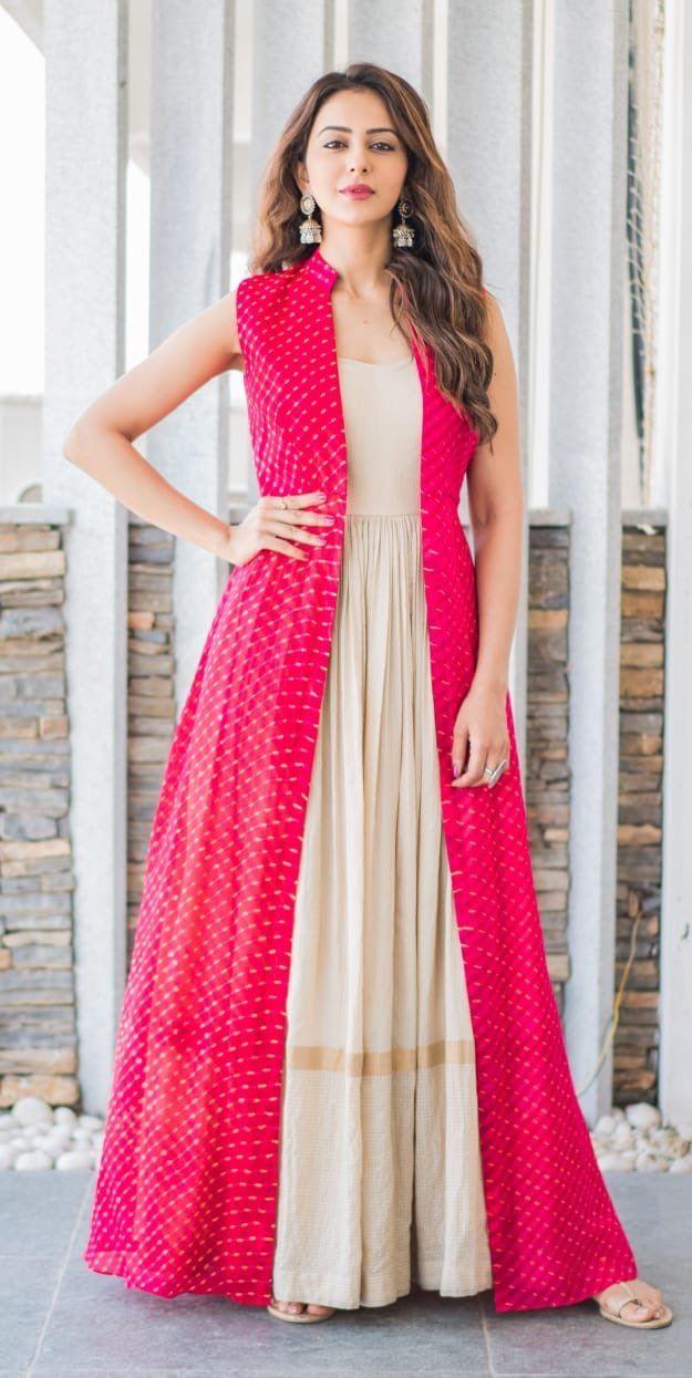 Rakul Preet Indian Gowns Dresses Designer Dresses Indian Indian Gowns