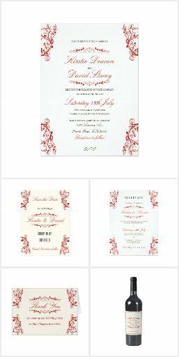 Wedding Stationery & Accessories Set 10