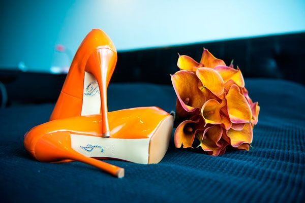 sunflower gold or orange shoes?