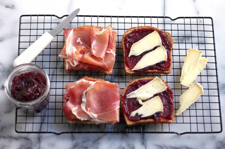 air jordan air logo Cranberry Brie and Prosciutto Grilled Cheese